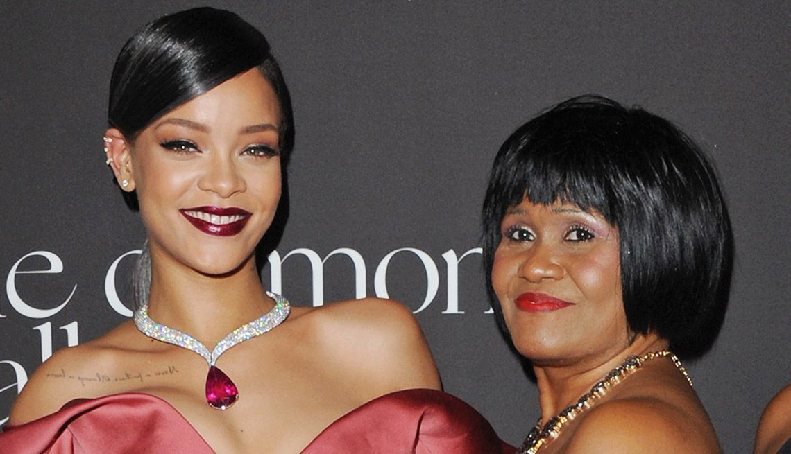 Rhianna, Celebrity Mother's Day Gifts