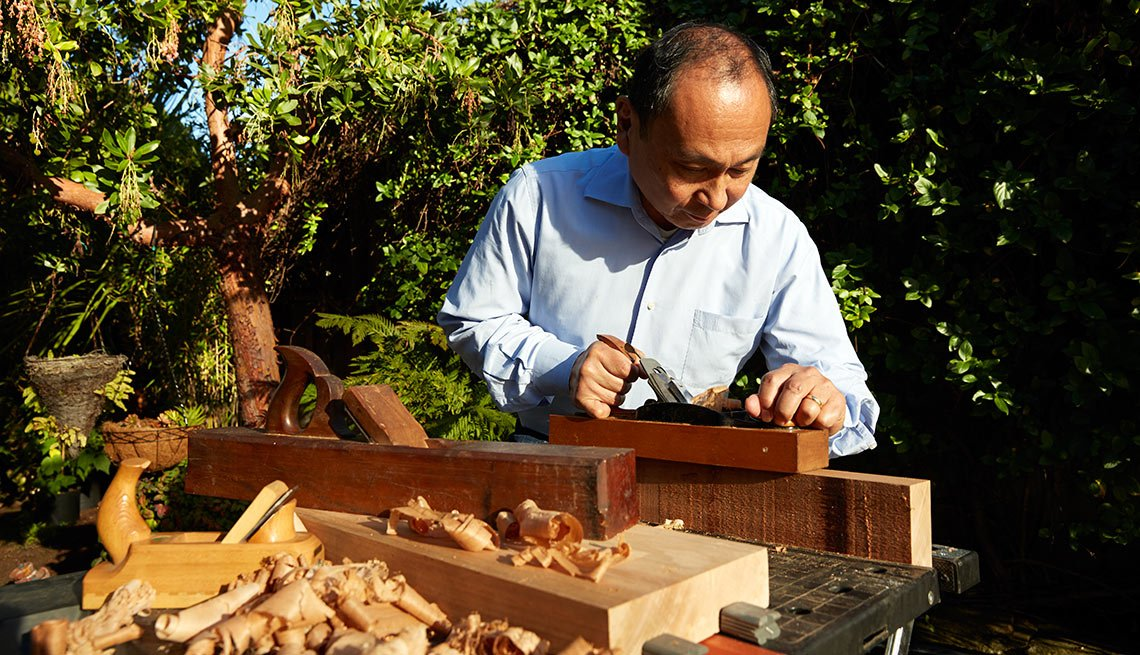 My Passion: Professor Francis Fukuyama -- Woodworking