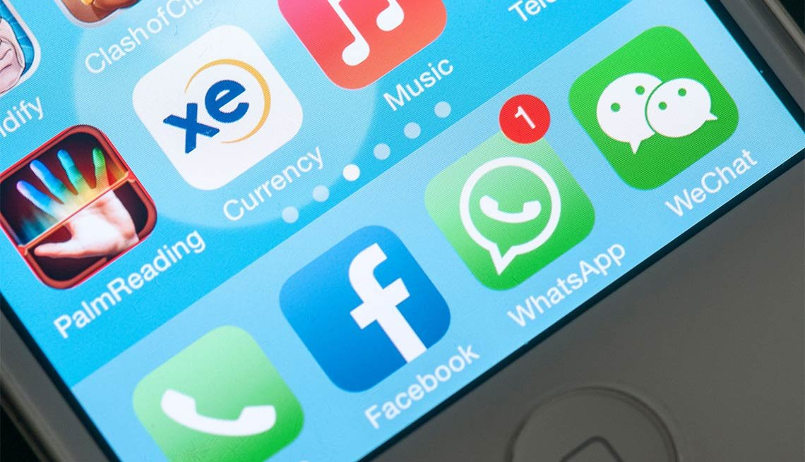 WhatsApp, Millennial Apps that Aid Boomers