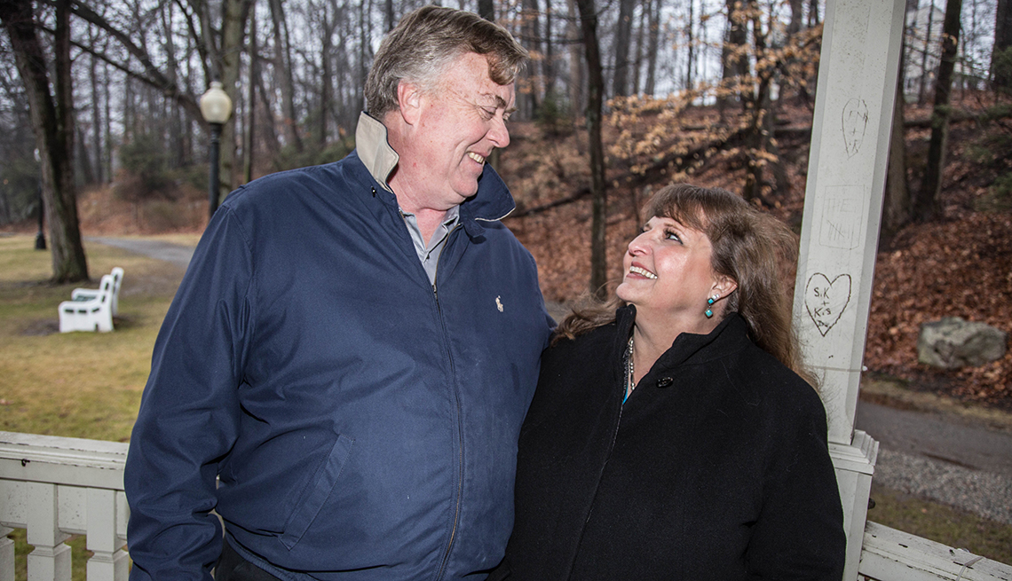 Christine and Bill Gregory, Finding Love After 50
