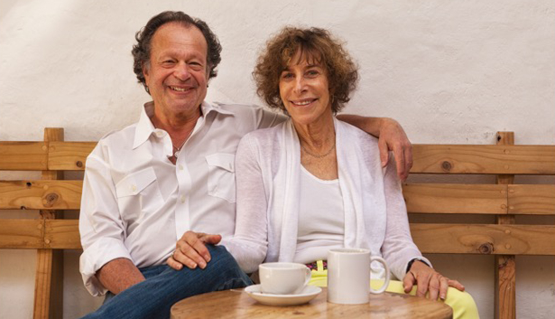 Ken Solin and his partner, Finfing Love After 50