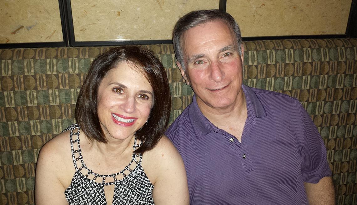 Linda Sheff and partner, Finding Love After 50