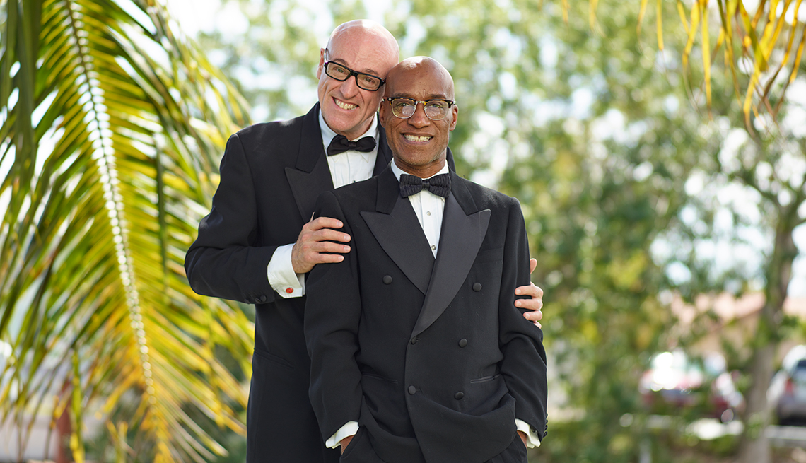 Richard Cameron and Ron Hutchins, Finding Love After 50