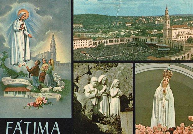 Postal del Santuario de Nuestra Señora de Fátima