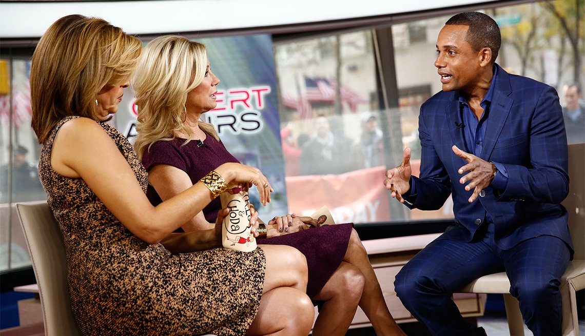 Hoda Kotb interviews Hill Harper on the 'Today Show' in 2013