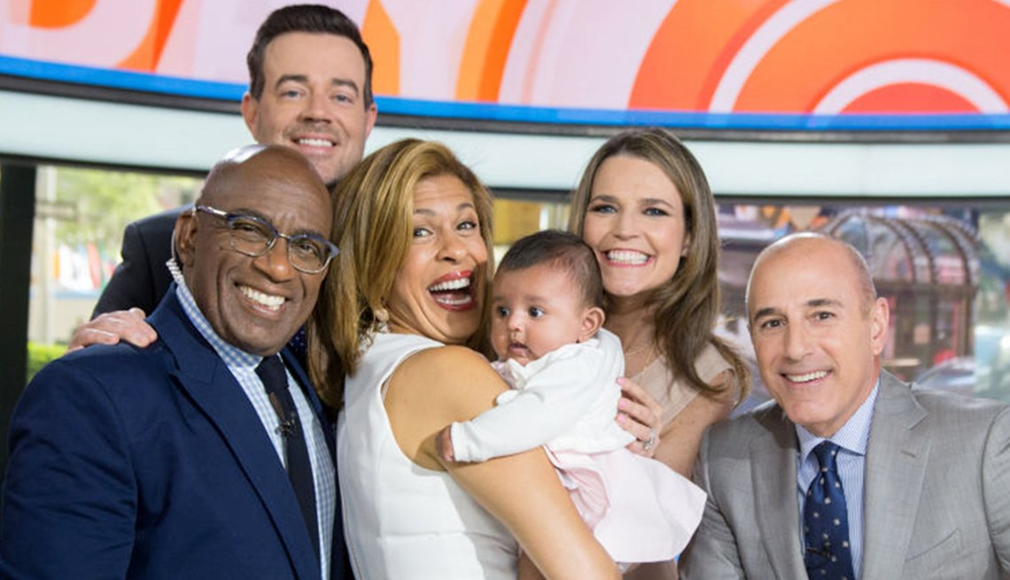 Hoda Kotb with daugher Haley on the 'Today Show'
