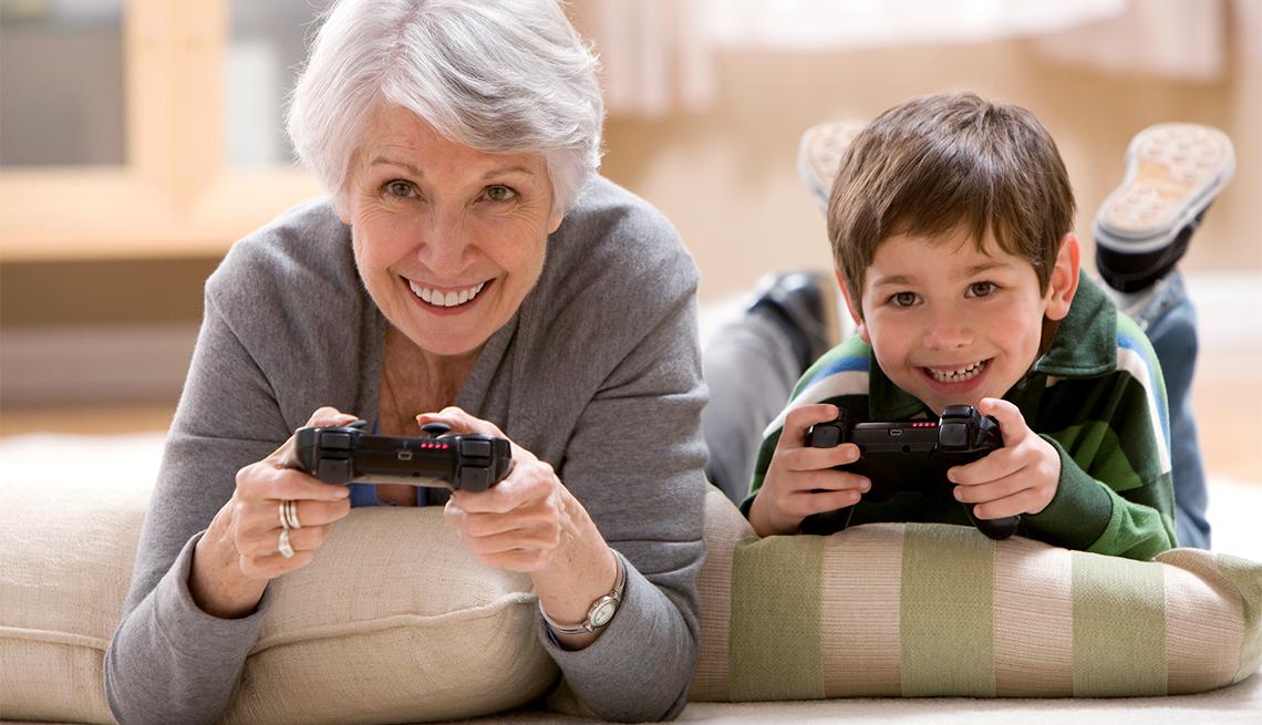websites connect surrogate grandparents to families adults