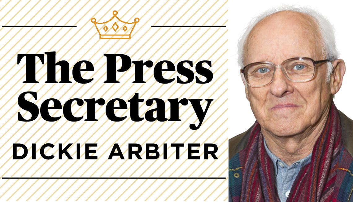 The Press Secretary, Dickie Arbiter