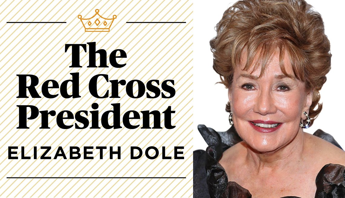 The Red Cross President, Elizabeth Dole
