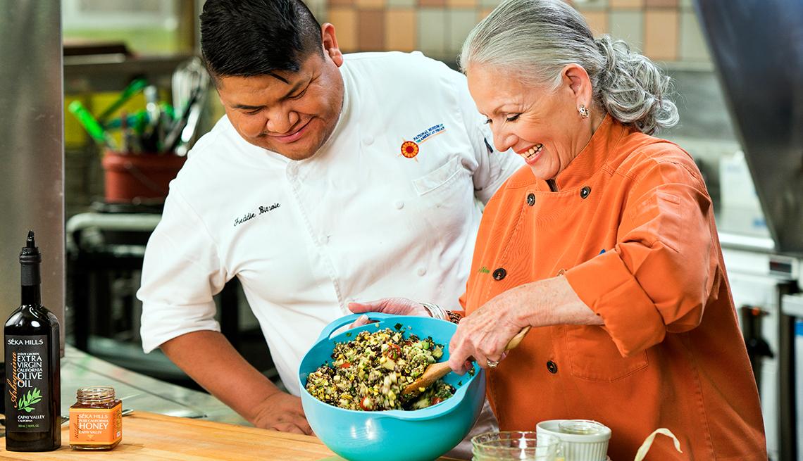 Native Origins with Chef Loretta Barrett Oden
