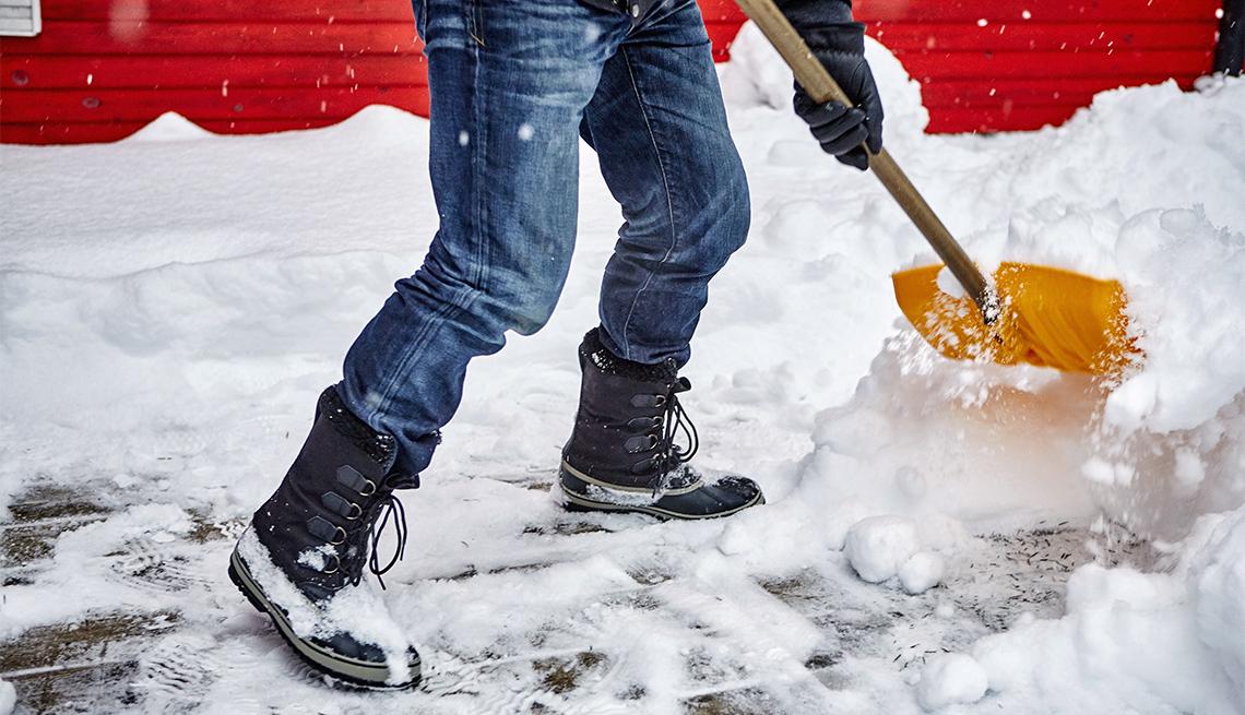 Snow Shoveling Hacks