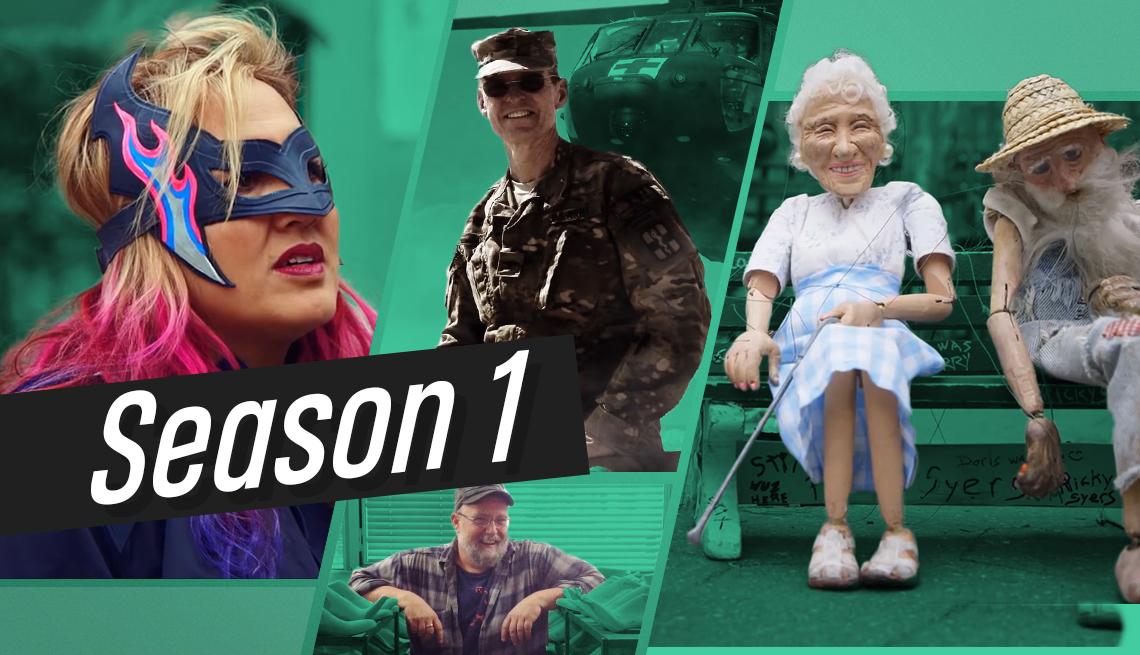people in videos for season 1