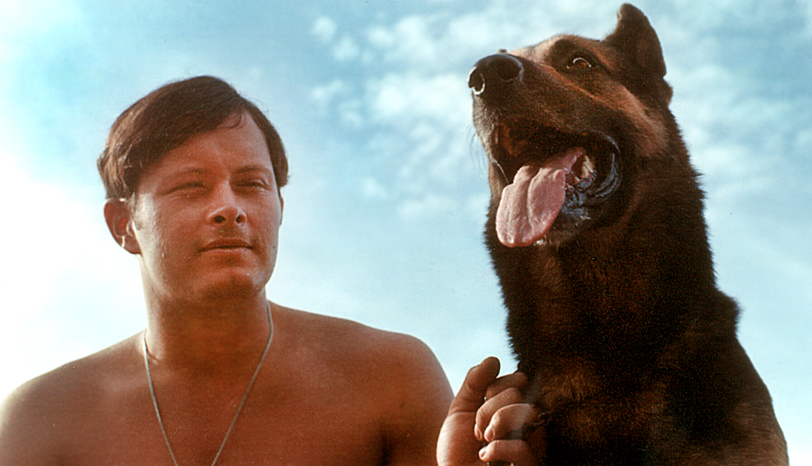 Jim Brim landed in vietnam in July 1970 and became the handler for Ramo, a German Shepherd,