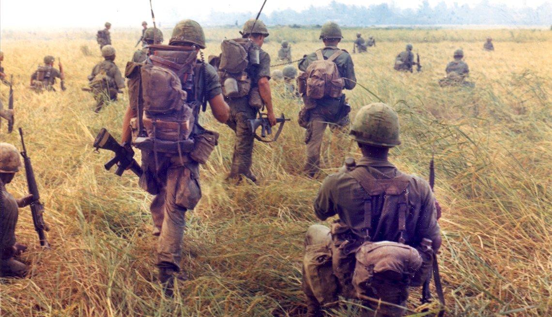 Tropas de Vietnam de la 327ª Infantería, 101ª Brigada Aerotransportada.