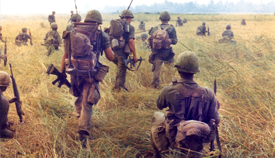 Vietnam troops of the 327th Infantry, 101st Airborne Brigade
