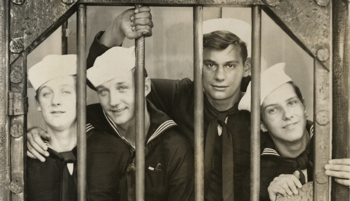 Richard Thelen was a sailor with his buddy, Robert Terry on the USS Indianapolis,