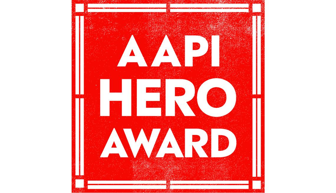 AAPI Hero Award Logo