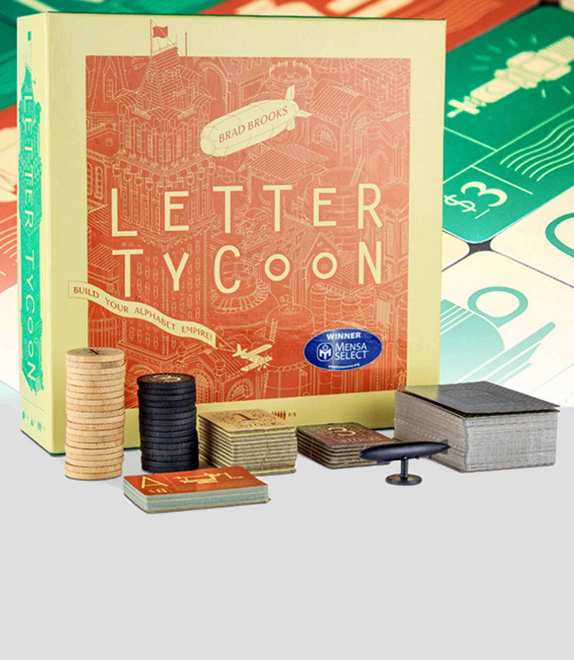 Letter Tycoon game box