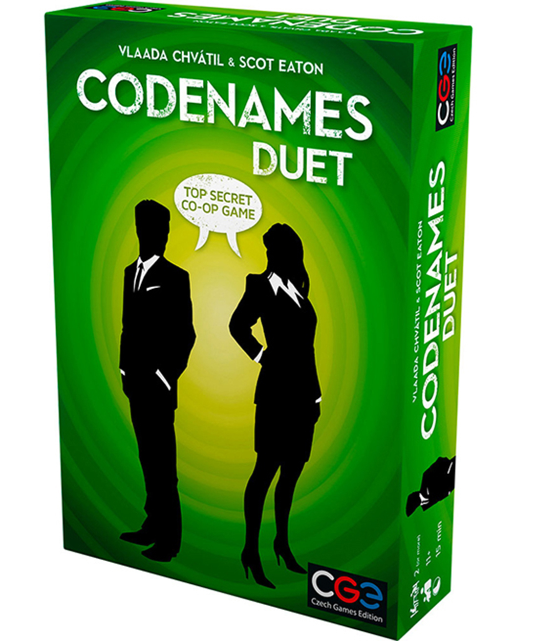 Codenames Duet game box