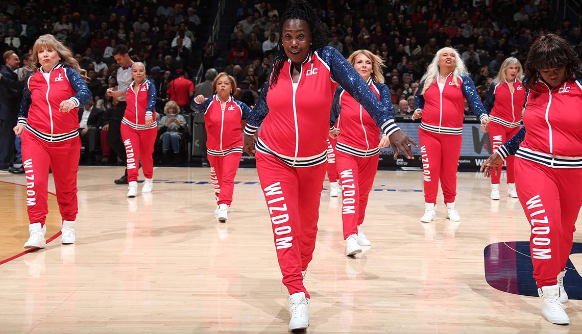 Washington Wizdom dance team