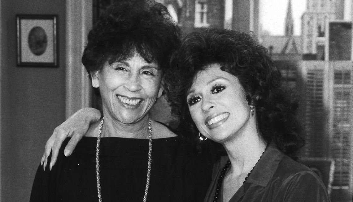 Rita Moreno and her mother