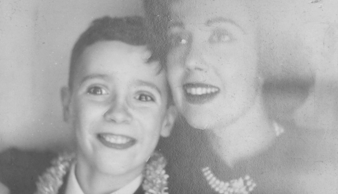 Scott Simon and his mother