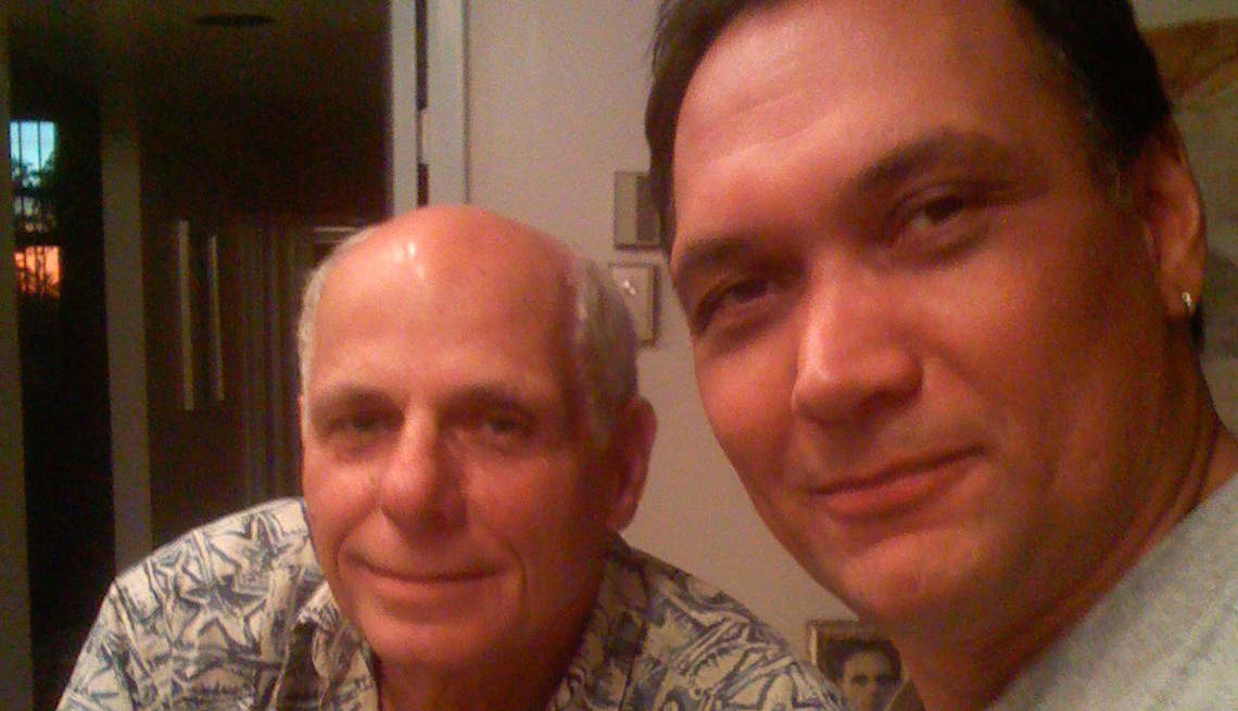jimmy smits with his father
