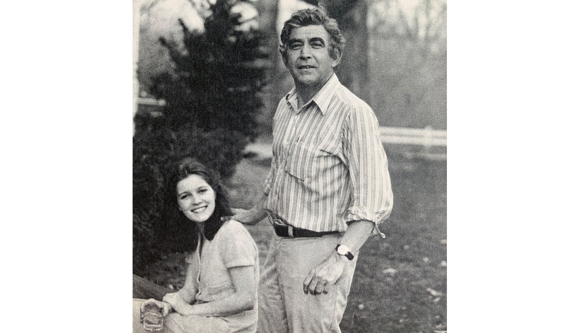 kate mulgrew and her father