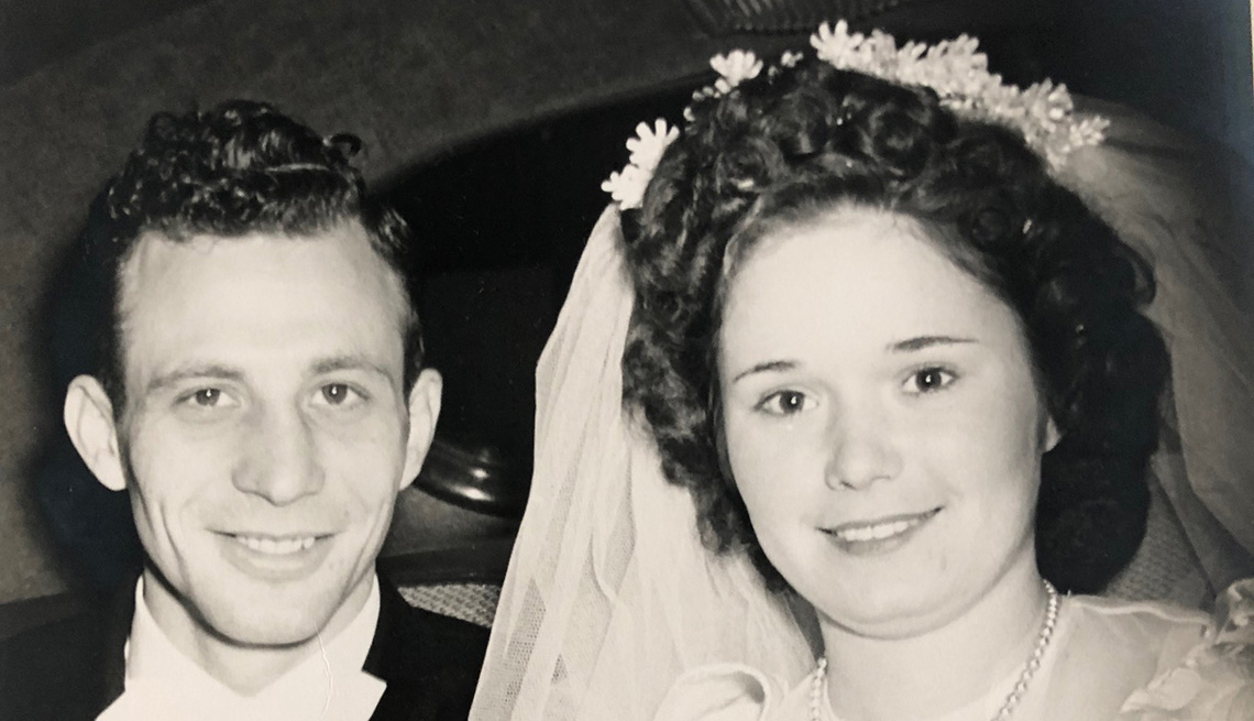 item 2, Gallery image. Joe Perricone has been married to his wife, Hope, for 72 years after getting hitched in 1947.
