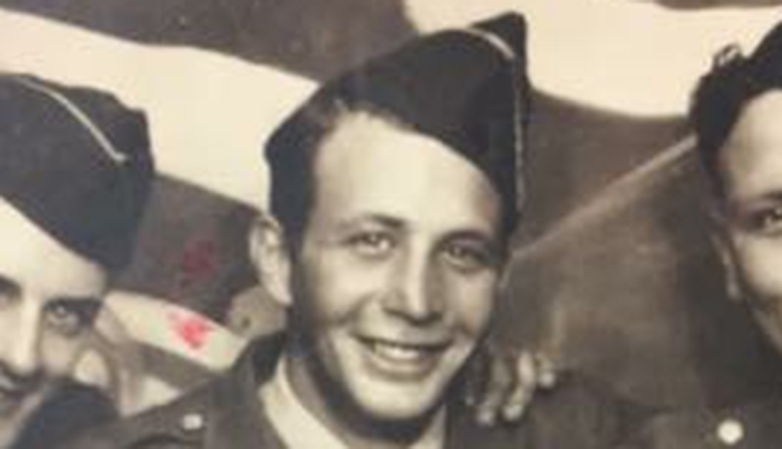 item 3, Gallery image. This photo was taken of Perricone during World War II. He was inducted into the U.S. Army on Feb. 26, 1943.