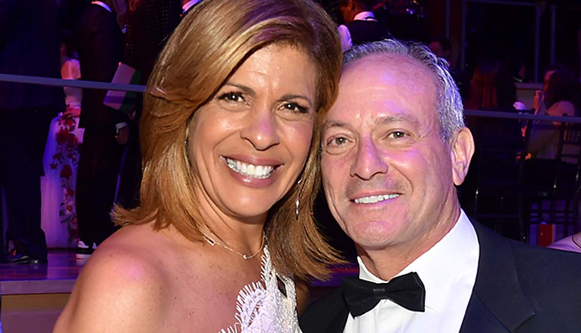 item 2 of Gallery image - Hoda Kotb and Joel Schiffman at an events