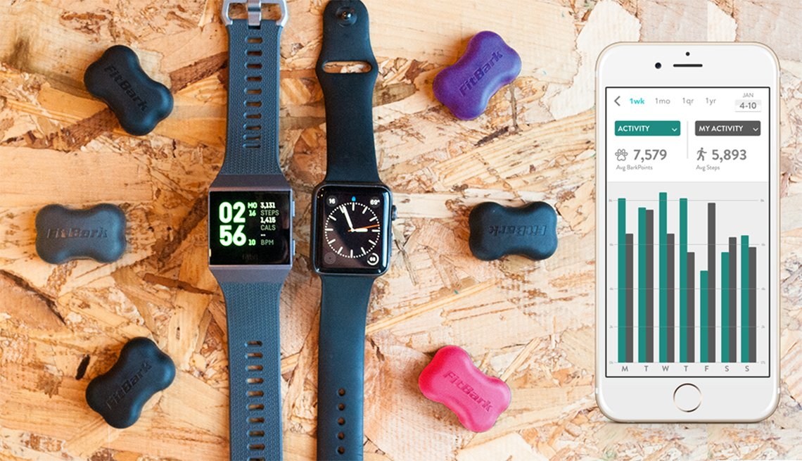 Fitbark device and Fitbark app