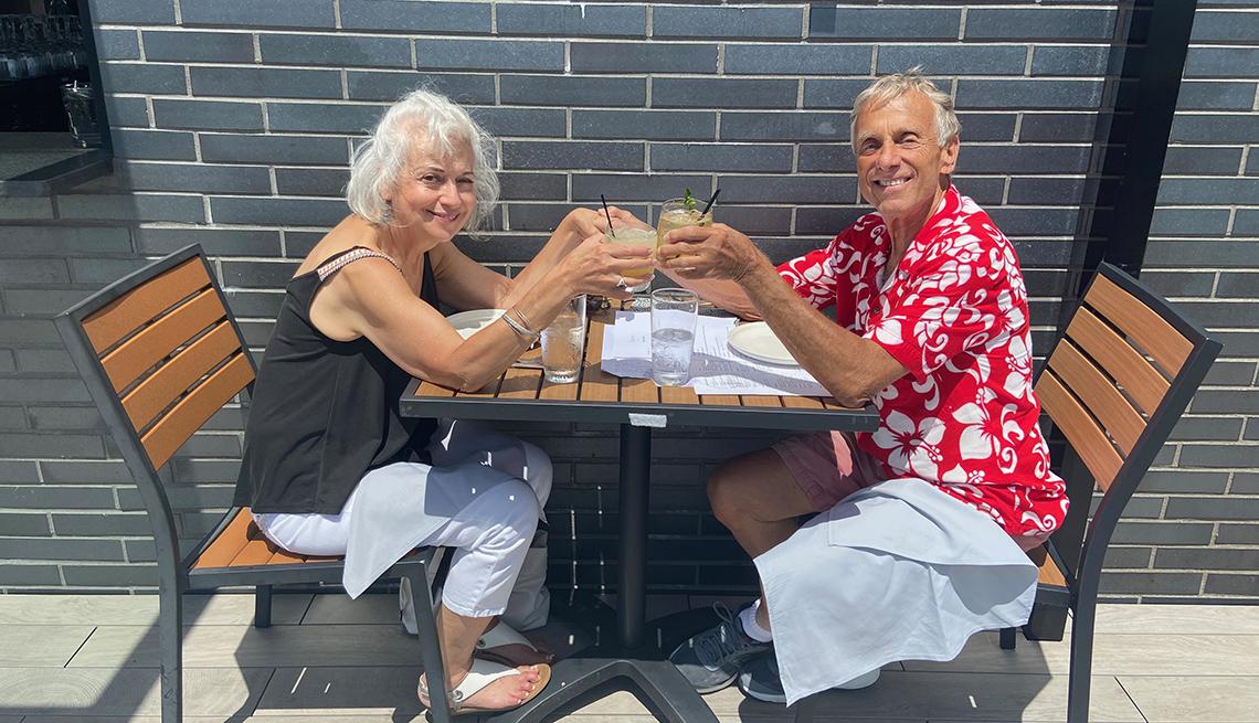 Vince Perrelli conoció a su pareja durante la pandemia de coronavirus