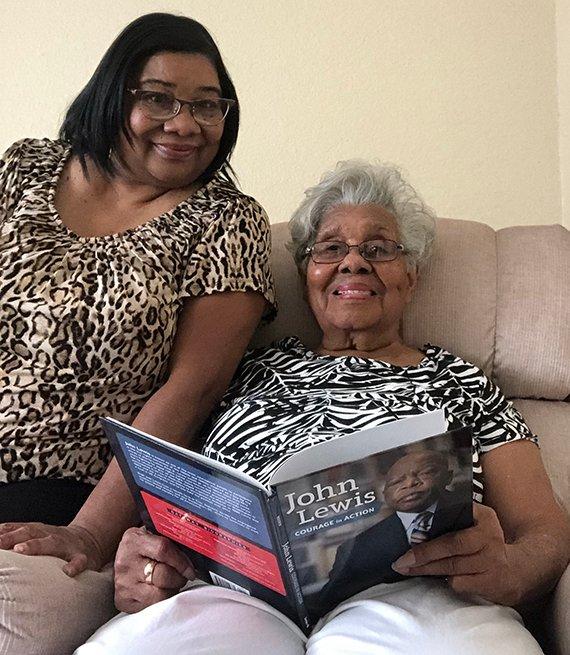 Sharon Lewis and Rosetta Fletcher