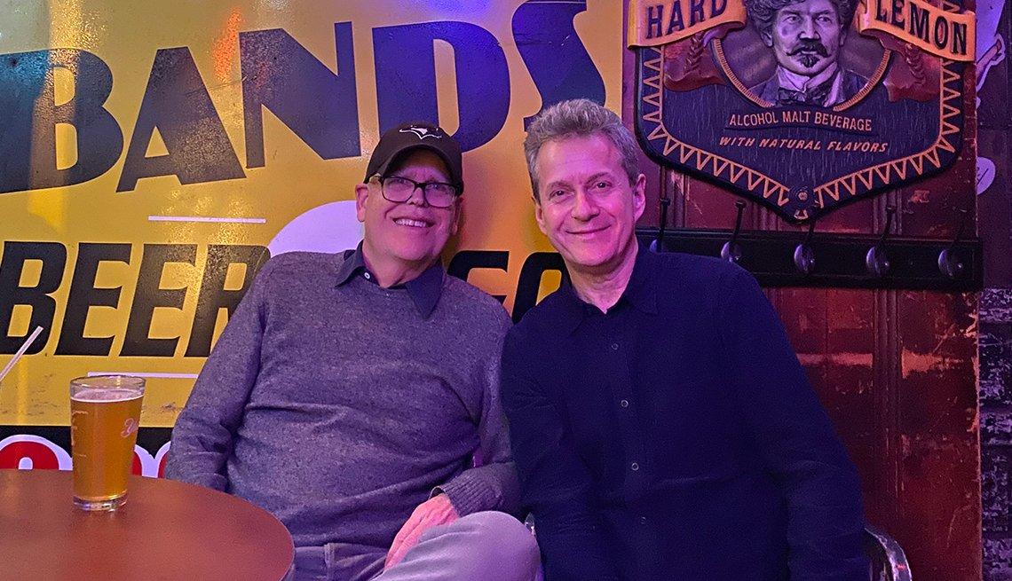 Tom Saunders and Scott Blakeman