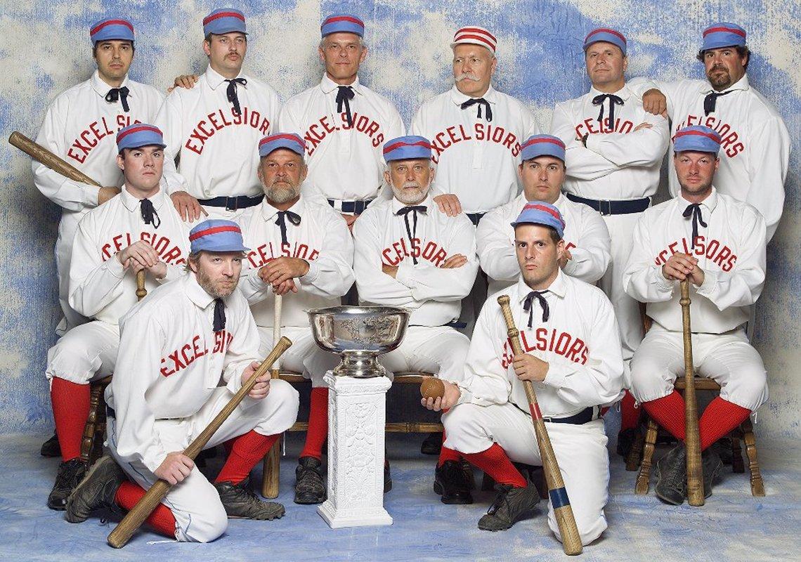 A baseball team photo