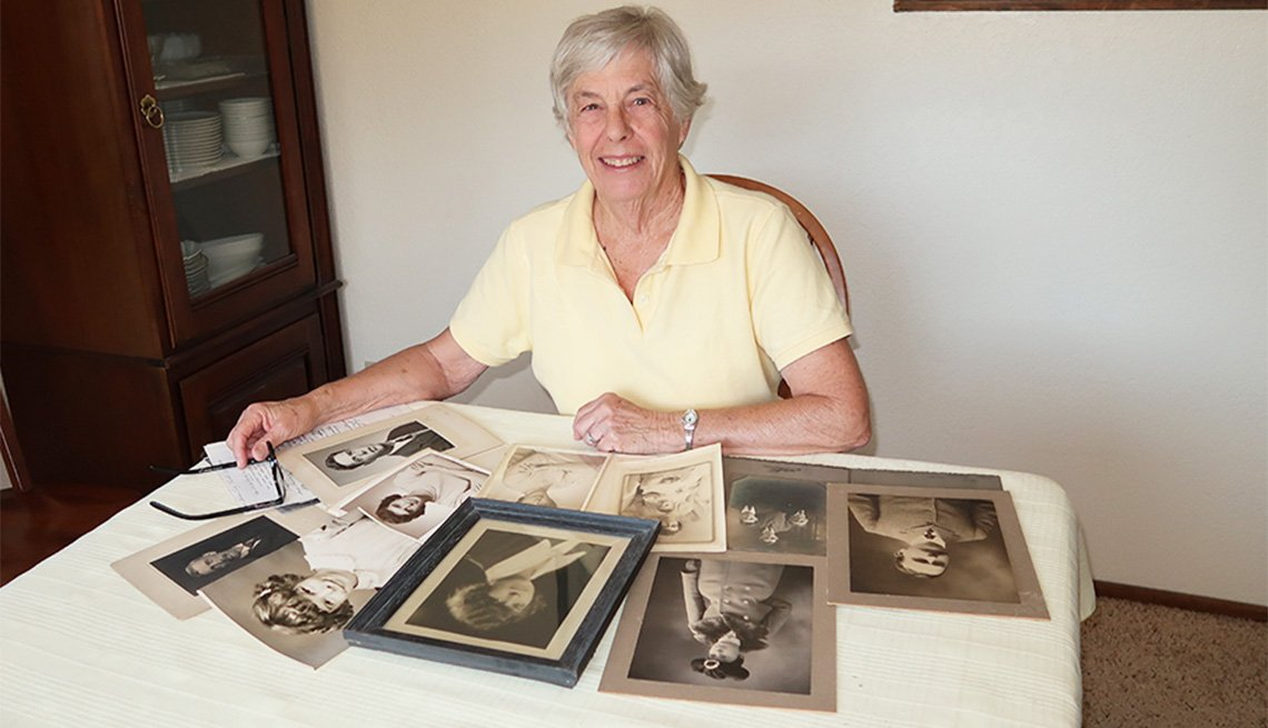 Cindy Rovey hopes to get relatives interested in her family's history.