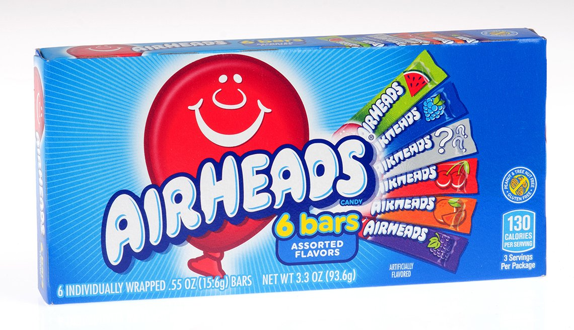 item 9 of Gallery image - Airheads candy box made by Perfetti Van Melle