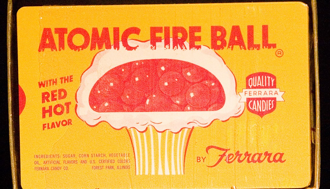 item 5 of Gallery image - Atomic Fire Ball wrapper