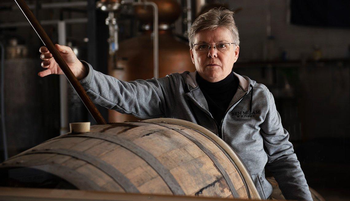 Marlene Holmes - master distiller