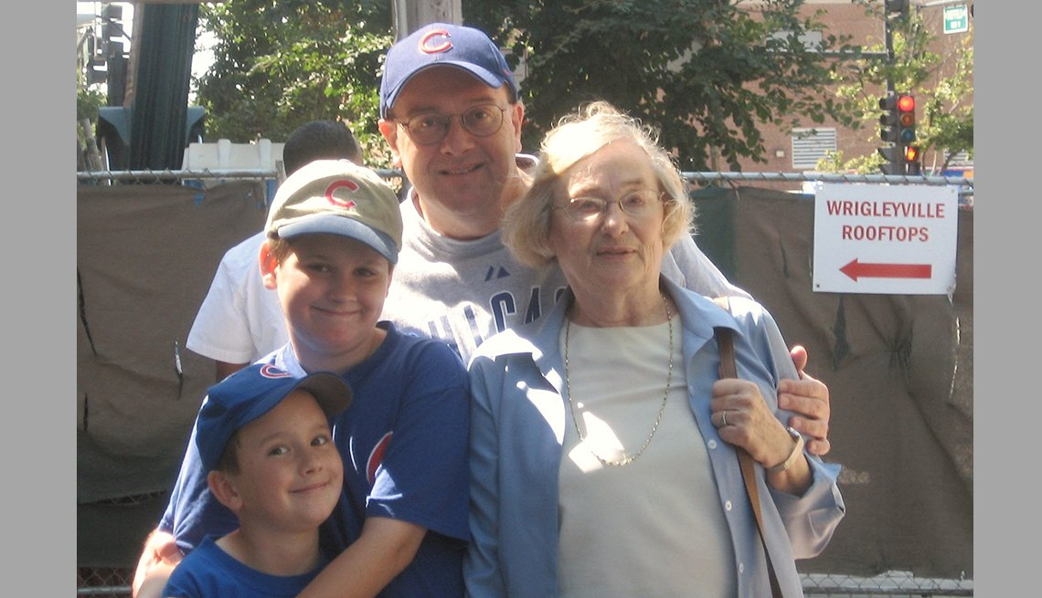 item 13 of Gallery image - Tom Fodor with his two sons and his mother