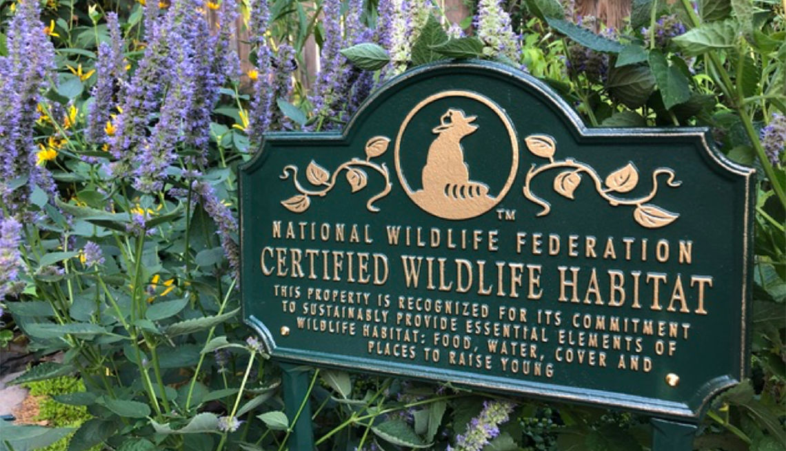 National Wildlife Federation Certified Wildlife Habitat