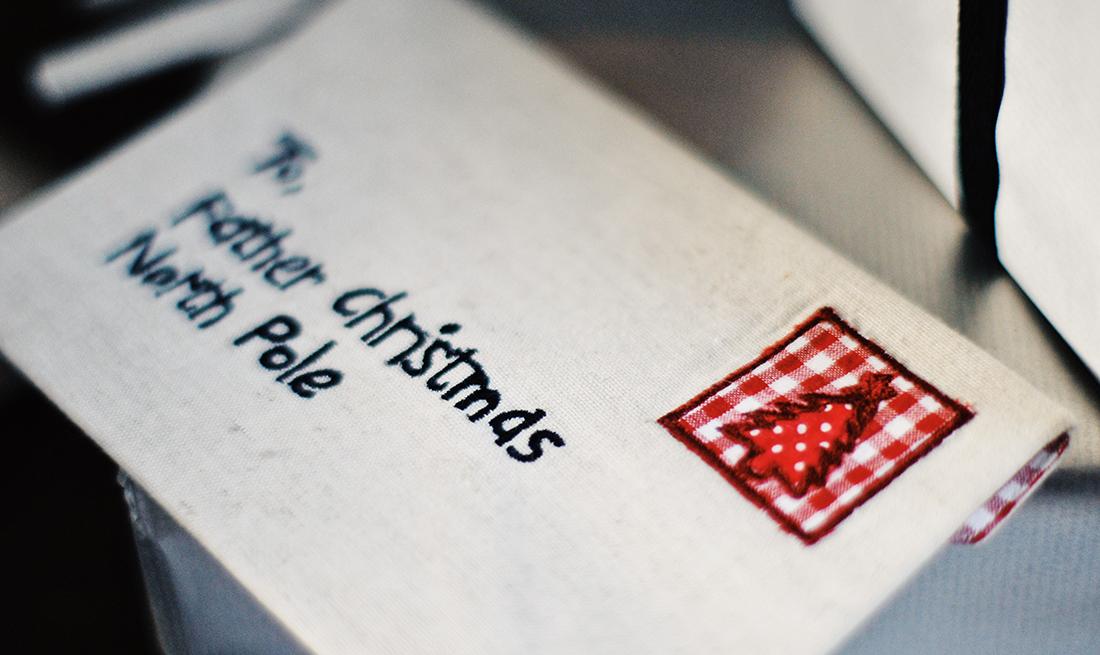 Carta de Navidad para Santa