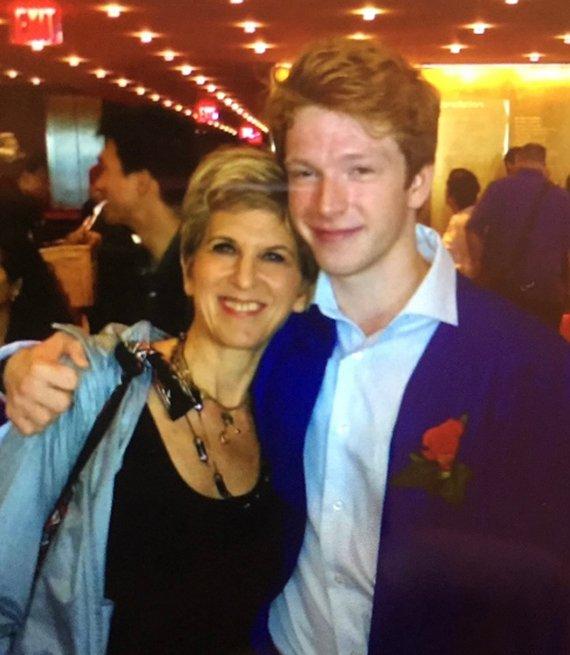 Sara Oppenheim & son Julian
