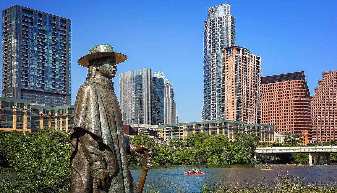 Panorámica del Downtown en Austin Texas