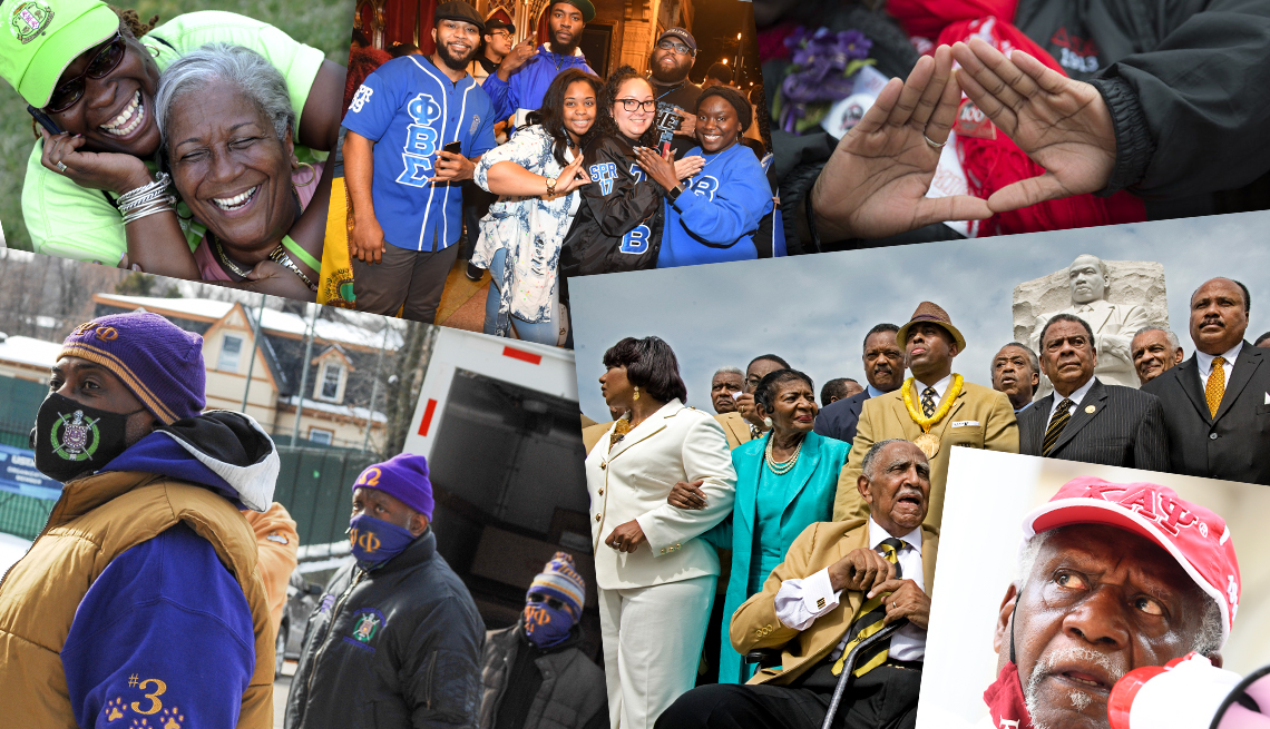 black sororities and fraternities of the pan hellenic