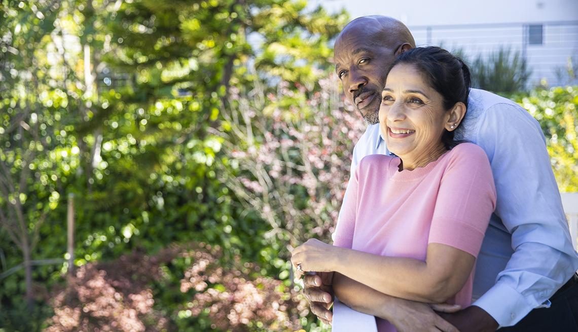 Mature interracial couple