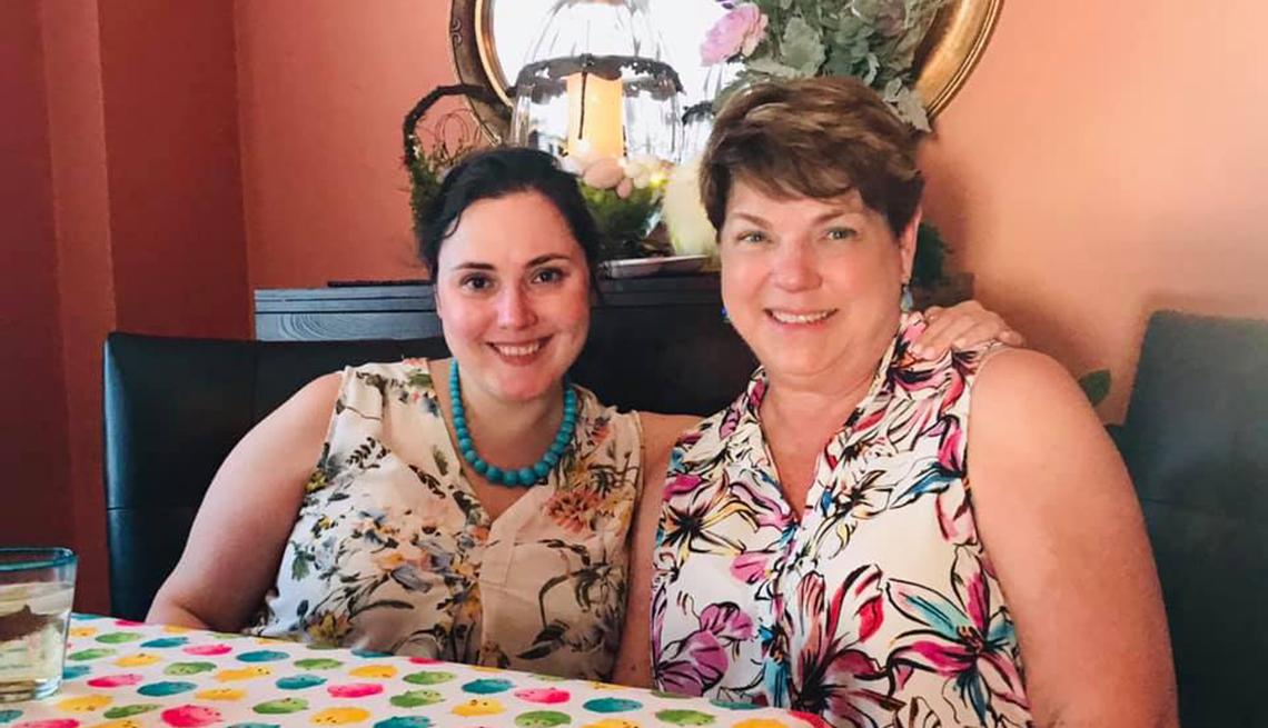 Melissa Kennedy and Debra Jez