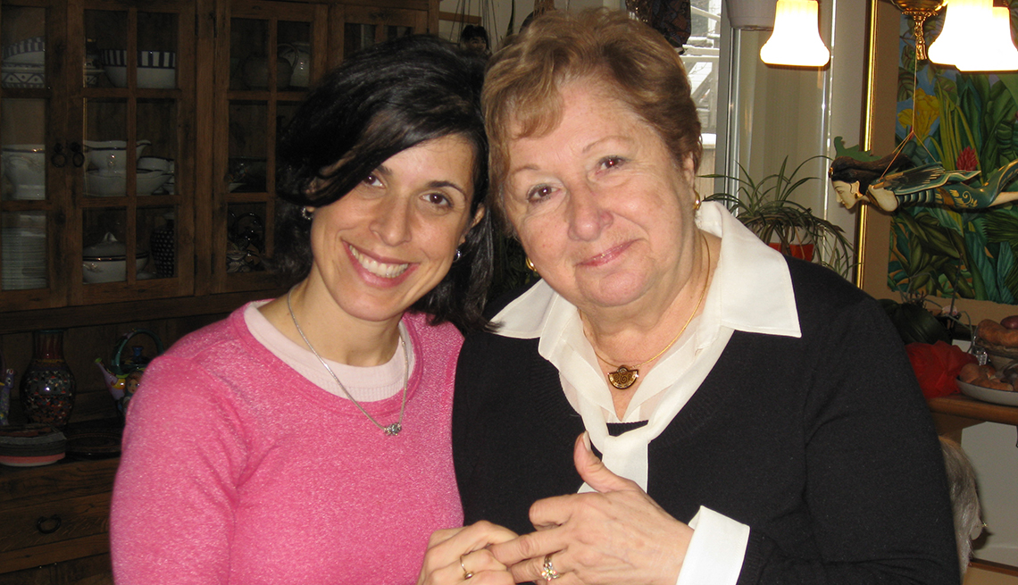 item 10 of Gallery image - Gabrielle Hartley with her aunt