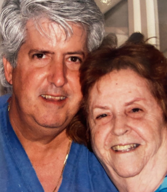 Dr. Perez and his mother